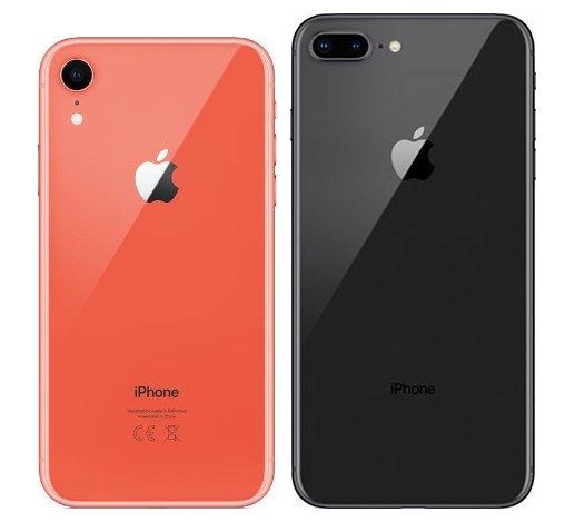 iphone 8 vs iphone xr