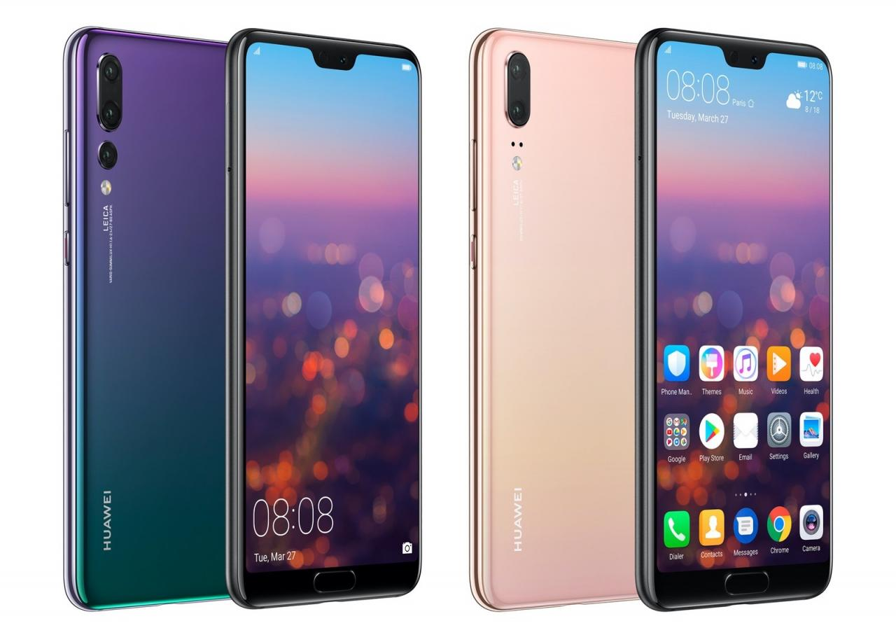 huawei p20 pro vs iphone x